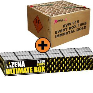 Combideal: Zena Ultimate & Event Immortal Gold