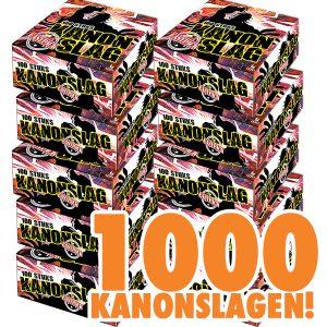 1000 KANONSLAGEN