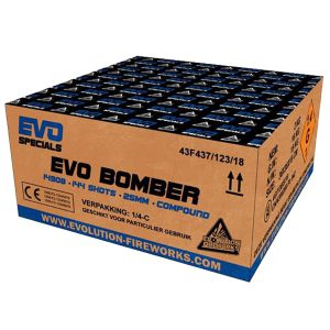 Evo Bomber uit de Evo Specials collectie van Evolution Fireworks