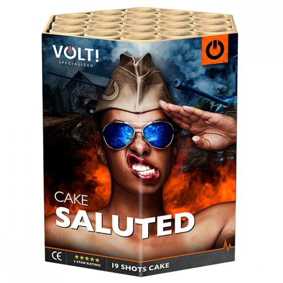 Saluted